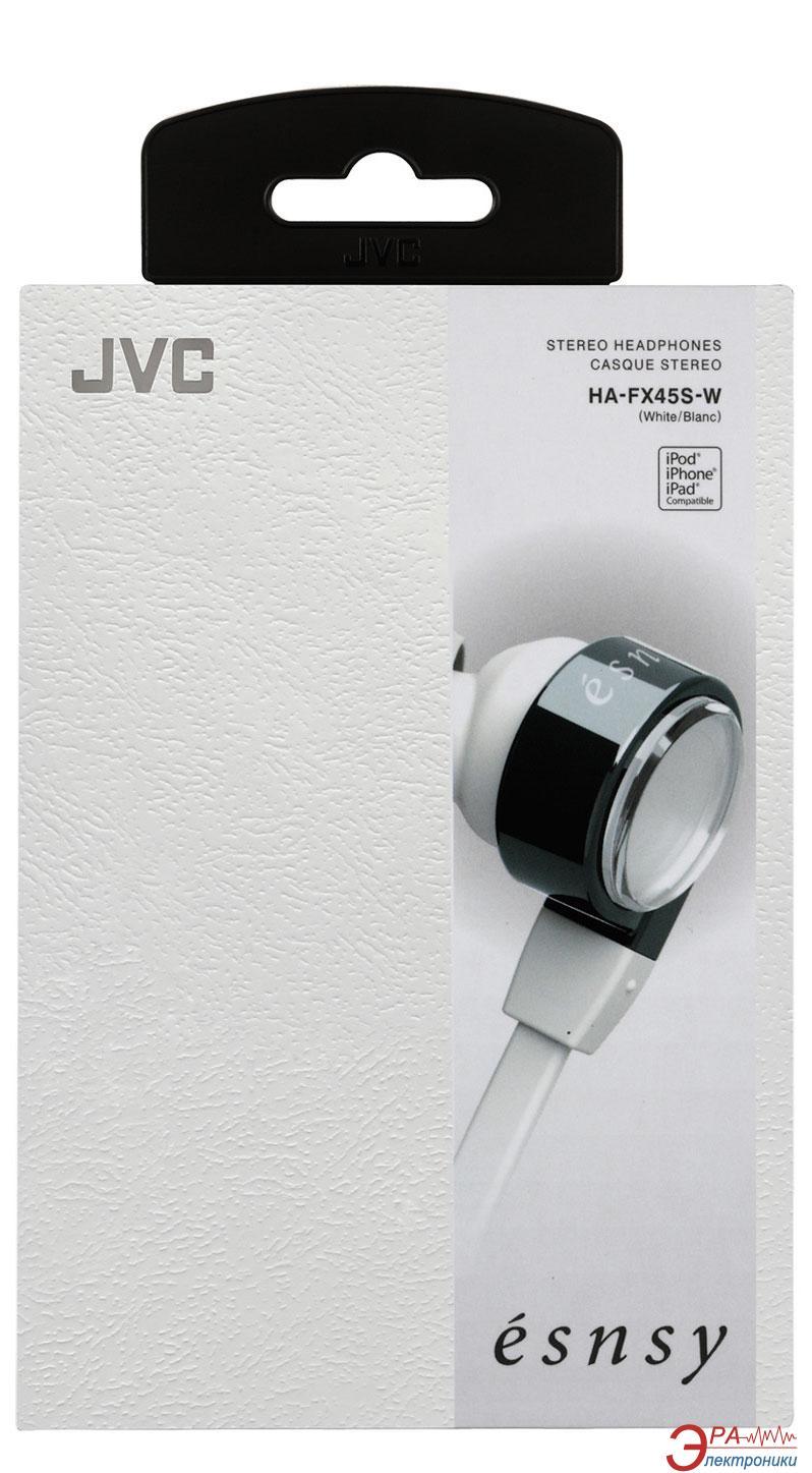 Наушники JVC Esnsy HA-FX45S White (HA-FX45S-W-E)