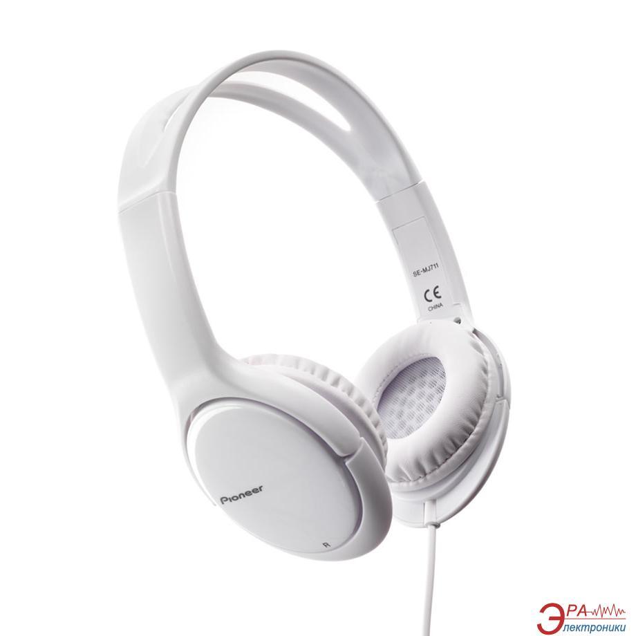 Наушники Pioneer SE-MJ711-W Extreme Bass White
