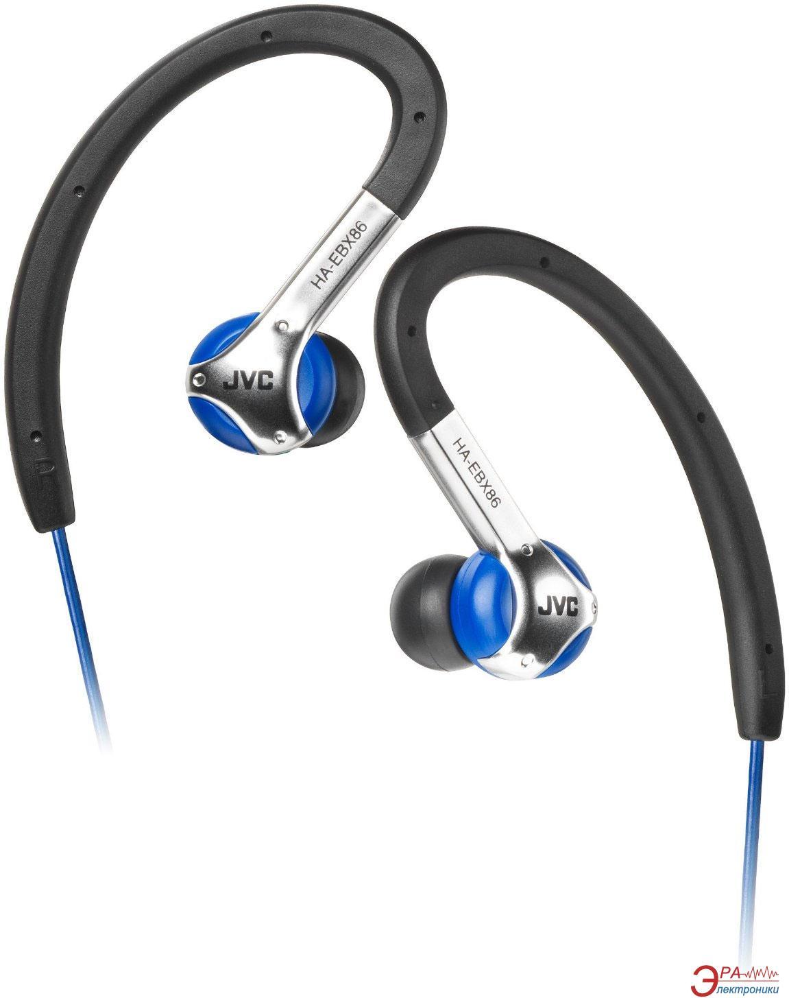 Наушники JVC HA-EBX86 Blue Sport (HA-EBX86-A-E)