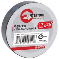 Изолента Intertool 0.15mm x 17mm x 25m Black (IT-0026)