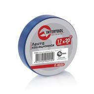 Изолента Intertool 0.15mm x 17mm x 20m Blue (IT-0020)