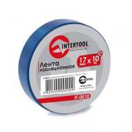 Изолента Intertool 0.15mm x 17mm x 10m Blue (IT-0010)