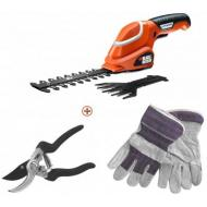 Кусторез Black&Decker GSL700KIT