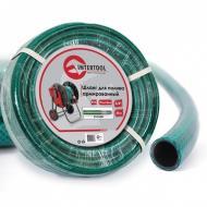 Шланг для полива Intertool 3/4, 50m, PVC (GE-4046)