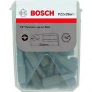 Биты Bosch Extra-Hart 25mm PZ 2 25 шт (2.608.522.187)