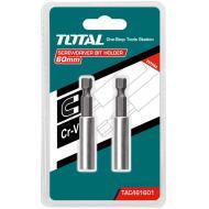 Держатель бит Total L=60mm, 2шт. (TAC461601)