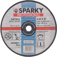 Круг отрезной по металлу Sparky A 30 R 230x3.0x22.2mm (20009560404)