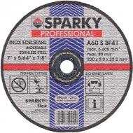 Круг отрезной по металлу Sparky A 60 S 180x2x22.2mm (20009561209)