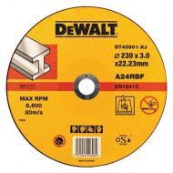 Круг отрезной по металлу DeWALT 230x3.0x22.2mm (DT42601)