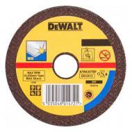 Круг отрезной по металлу DeWALT INOX 125x2.5x22.2mm (DT3446-QZ)