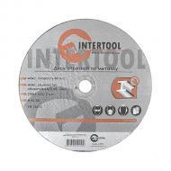Круг отрезной по металлу Intertool 230x1.6x22.2mm (CT-4015)