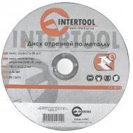 Круг отрезной по металлу Intertool 180x2.0x22.2mm (CT-4014)