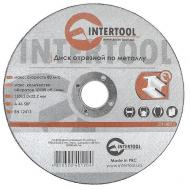 Круг отрезной по металлу Intertool 115x1.6x22.2mm (CT-4012.0)