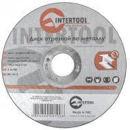 Круг отрезной по металлу Intertool 125x2.5x22.2mm (CT-4010)