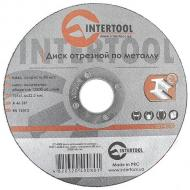 Круг отрезной по металлу Intertool 125x1.6x22.2mm (CT-4008)