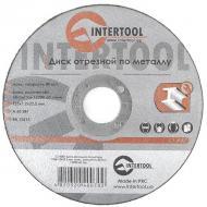 Круг отрезной по металлу Intertool 125x1.2x22.2mm (CT-4007)
