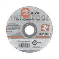 Круг отрезной по металлу Intertool 115x2.5x22.2mm (CT-4005)