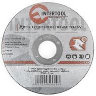 Круг отрезной по металлу Intertool 115x2.0x22.2mm (CT-4004)