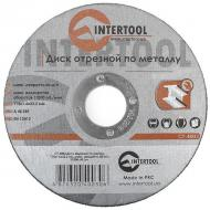 Круг отрезной по металлу Intertool 115x1.6x22.2mm (CT-4003)