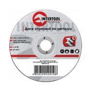 Круг отрезной по металлу Intertool 115x1.2x22.2mm (CT-4002)