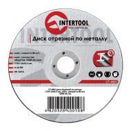 Круг отрезной по металлу Intertool 115x1.0x22.2mm (CT-4001)