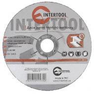 Круг шлифовальный по металлу Intertool 150x6x22.2mm (CT-4023)