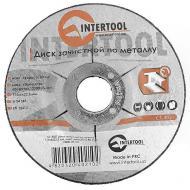 Круг шлифовальный по металлу Intertool 115x6x22.2mm (CT-4021)