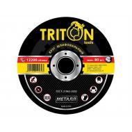 Круг шлифовальный по металлу Triton-tools 125x6,0x22,23 mm (125-60)