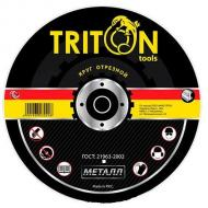Круг отрезной по металлу Triton-tools 350x3,5x25,4 mm (350-35)