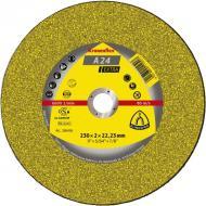 Круг отрезной по металлу Klingspor 230x2x22,2 Kronenflex A24 Extra (286456)