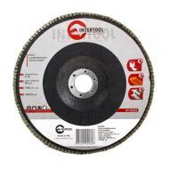 Диск шлифовальный лепестковый Intertool 180x22mm, K60 (BT-0226)