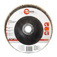 Диск шлифовальный лепестковый Intertool 180x22mm, K40 (BT-0224)