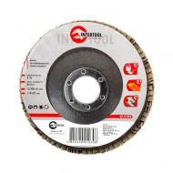 Диск шлифовальный лепестковый Intertool 115x22mm, K36 (BT-0103)