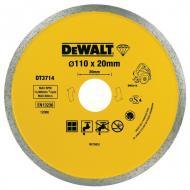 Диск алмазный Dewalt 110x1.6x20mm (DT3714)