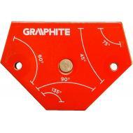Магнитный угольник Graphite 64x95x14 mm (56H904)