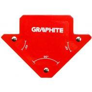 Магнитный угольник Graphite 82x120x13 mm (56H901)