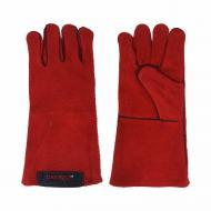 Перчатки сварщика Dnipro-M Краги красные (81065000)