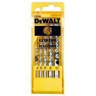 Набор сверл по бетону Dewalt EXTREME 4,5,6,8,10mm (DT6956)