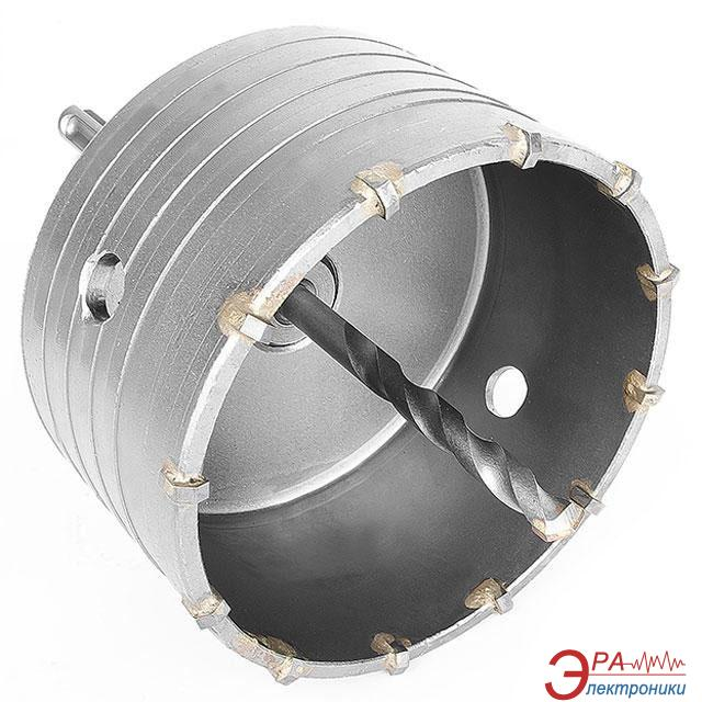 Коронка по бетону Intertool 105mm + переходник SDS-plus 100mm (SD-7105)