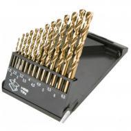 Набор сверл по металлу Graphite HSS-TiN 1.5-6.5 mm, 13 шт. (57H198)