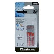 Пилка для электролобзика Piranha 51x76mm 6mm Т 5шт (X22025)