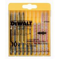 Набор пилок для электролобзика DeWALT 10шт (DT2294)