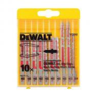 Набор пилок для электролобзика DeWALT 10шт (DT2292)