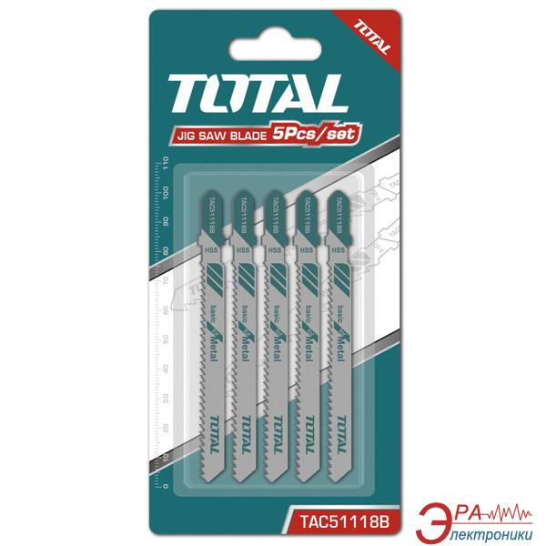 Пилка для электролобзика Total 5шт. (TAC51118B)