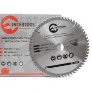 Диск циркулярный Intertool 230x30x1.6мм, 60 зубьев (CT-3047)