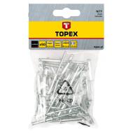 Заклепки Topex 4.8x14.5 мм, 50 шт (43E504)