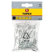 Заклепки Topex 4x8 мм, 50 шт (43E401)