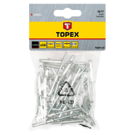 Заклепки Topex 4x16 мм, 50 шт (43E404)