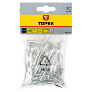 Заклепки Topex 4x10 мм, 50 шт (43E402)