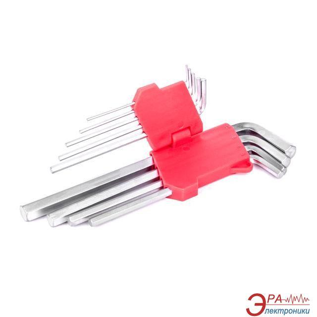 Набор шестигранных ключей Intertool 1.5-10мм, 9 шт (HT-0602)